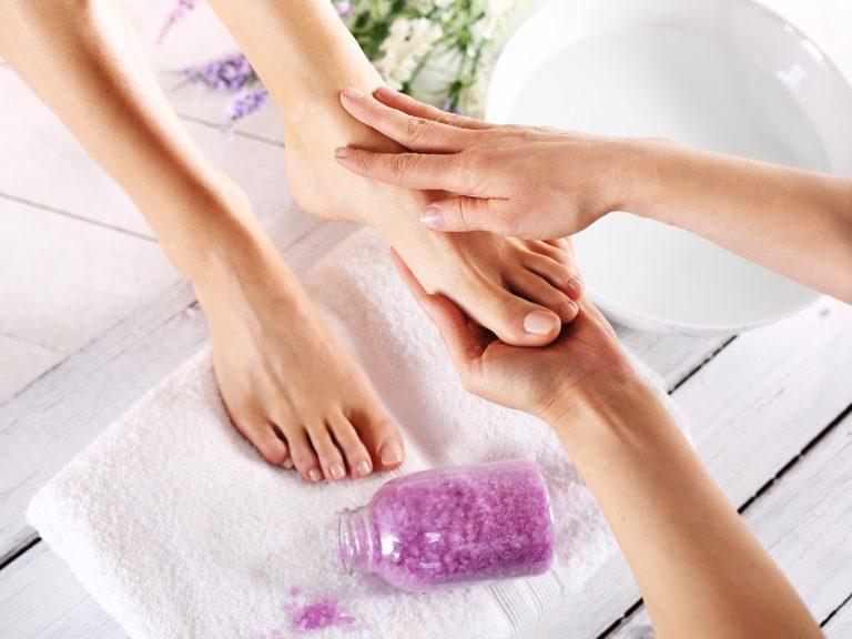 Spa dla stóp, masaż i pielęgnacja
